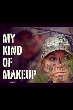 My kind of makeup
