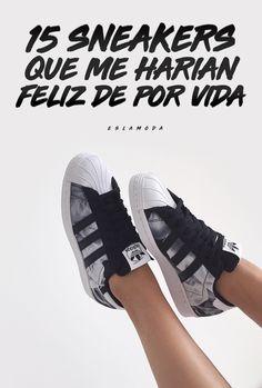 pretty nice e7c0a b8080 15 Tenis que me harían feliz de por vida. Zapatos Deportivos De ModaTenis  ...
