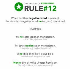 esperanto: rule 12