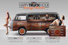 Outdoor ad: Zorba: Happy Truck Hour