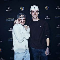 Grant and Tom being cute