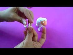 "Como hacer una oveja en porcelana fria ""facil"""