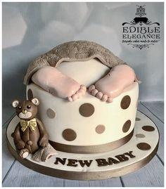 New baby, Baby shower cake