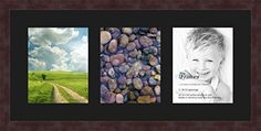 Art to Frames DoubleMultimat258989FRBW26061 Collage Frame Photo Mat Double Mat with 3  8x10 Openings and Espresso frame * Click image for more details. Note: It's an affiliate link to Amazon.