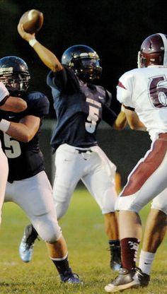 Notre Dame High School football team storms by Bangor | lehighvalleylive.com 2013 Season