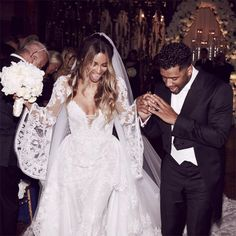 Brides: Ciara and Russell Wilson Are Married! See Photos of Their Wedding Celebrations