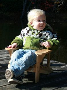 Child Size Adirondack Chair Plans - Dwg Files For Cnc Machines