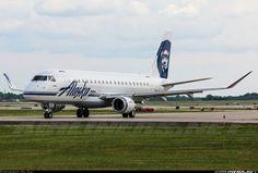Alaska Airlines (SkyWest Airlines), Embraer 175LR (ERJ-170-200LR) (N173SY) at Milwaukee (KMKE)