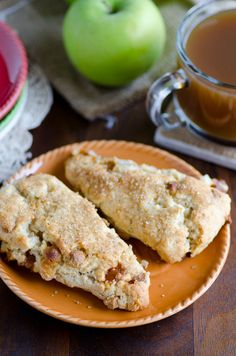 Apple Pie a la Mode Scones