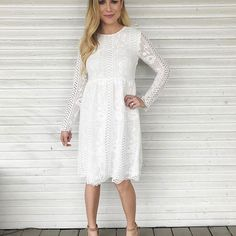 For the bride or for a maternity shoot, or just because ...Our Rose midi dress is a perfect option. || $59.99 (also available in Black plus FREE shipping)  Get the whole look- grab the Selah heels too! (scheduled via http://www.tailwindapp.com?utm_source=pinterest&utm_medium=twpin&utm_content=post135849863&utm_campaign=scheduler_attribution)