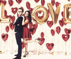 Tom and Giovanna Fletcher. I LOVE them together. An adorable couple.