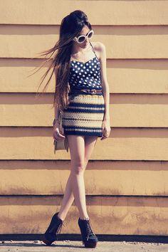 9c63edff55dd Polka dots + stripes. Swag Style