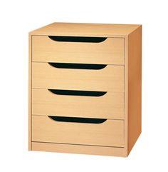 Muebles y colchones muebles de dormitorio c modas y - Cajoneras para ropa ...