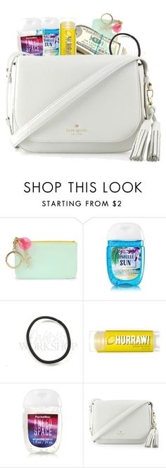 """""""What's in my Purse"""" by packing-on-polyvore ❤ liked on Polyvore featuring Bando and Kate Spade"""