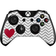 Chevron Xbox One Controller Skin  Chevron Heart Vinyl Decal Skin For Your Xbox One Controller -- You can find more details by visiting the image link.Note:It is affiliate link to Amazon.