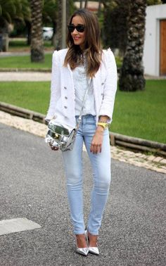 jeans simple and elegant