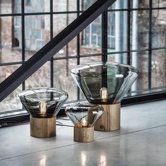 Nordic Czech Design Brokis Muffins Table Lamp Wood Simple Individual Art Decor Glass Led Desk Lamp P Interior Lighting, Home Lighting, Lighting Design, Luxury Interior, Luxury Lighting, Unique Lighting, Lighting Ideas, Table Lamp Wood, Glass Table