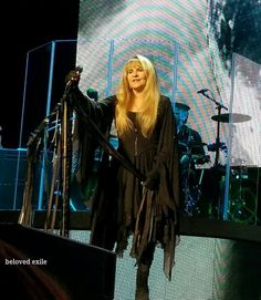 Stevie   ~ ☆♥❤♥☆ ~    smiling sweetly onstage; photo taken during the concert held at the CenturyLink Center, Bossier City, LA on Friday, March 10th, 2017 during her '24 Karat Gold' US 2017 tour