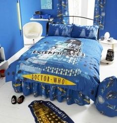 Find all the ideas you need to create an out of this world Doctor Who bedroom, from Doctor Who bedding and Doctor Who bedroom accessories, to...