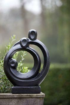 Abstract Coalesce Garden Sculpture
