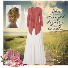 """Modest Summer outfit"" by christianmodesty on Polyvore"