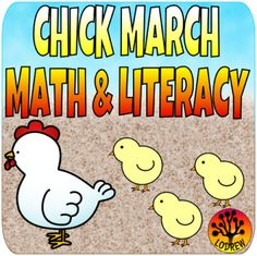 72 pages of chick centers. Great for spring, Easter, or a farm unit. Activities include beginning sounds, middle sounds, ending sounds, letter matching, letter order, cvc words, spelling, counting, number words, number sets, tally marks, number order, math and literacy. For kindergarten, preschool, SPED, child care, homeschool, or any early childhood setting.