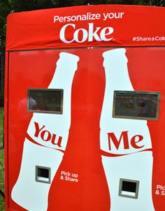 Share A Coke – Customize and Personalize Coke Bottle With Names./go to this site ...make a video it is hilarious, aggie