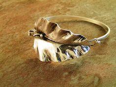 Silver leaf Cuf....yes please!