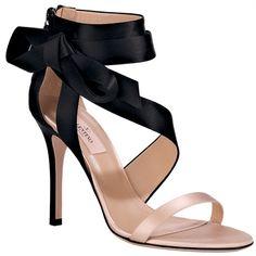@Valentino Black & Ballet Colored Shoe