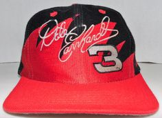 Dale Earnhardt NASCAR The Intimidator Vintage Sharktooth Snapback Hat The Intimidator, Hats For Sale, Dale Earnhardt, Snapback Hats, Nascar, Baseball Hats, Shopping, Vintage, Baseball Caps