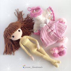 Ravelry: Icelyn Amigurumi Doll pattern by jossa handmade