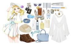 """""""Mari Ohara [Love Live]"""" by spinescent ❤ liked on Polyvore featuring Anne Klein, Oasis, Byredo, Marc Jacobs, Assouline Publishing, Michael Kors, MAC Cosmetics, H2O+, philosophy and Aspinal of London"""