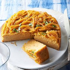 Kick up a classic for Hannukah with this take on a traditional kugel! Get the recipe here: http://www.bhg.com/recipes/from-better-homes-and-gardens/december-2014-recipes/?socsrc=bhgpin120114jerusalemnoodlekugel&page=38