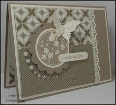 SU Serene Silhouettes, Teeny Tiny Sentiments, Elegant Butterfly punch  Fancy Fan E F