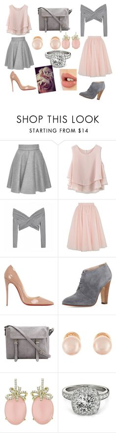 """""""Mix and match"""" by libbyweitkamp ❤ liked on Polyvore featuring MSGM, Chicwish, Ally Fashion, Ted Baker, Christian Louboutin, SJP, Kenneth Jay Lane, Allurez and Charlotte Tilbury"""