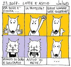 FULVO IL LUPO & Co. - La società animale: 23.2017 - LOTTE E ASTIO