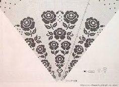 Resultado de imagem para toalhas em crochet e linho com graficos