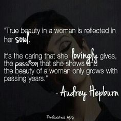 What makes a woman beautiful