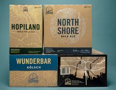 67 Examples of Awesome Craft Beer Packaging — The Dieline - Branding & Packaging Design Craft Packaging, Bottle Packaging, Coffee Packaging, Food Packaging, Coffee Labels, Craft Beer Labels, Wine Labels, Carton Design, Beer Label Design