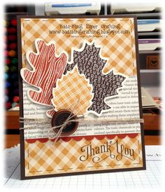 Perfect card for Autumn.