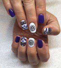 VW Kombi Van Nails