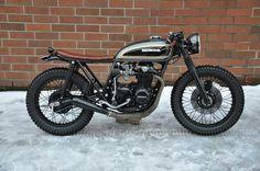 Honda CB550 by Jarred DeArmes, Seaweed & Gravel