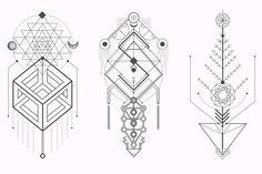 Sacred Geometry. Magic totem vol.2 by Aleksandra Slowik on @creativemarket