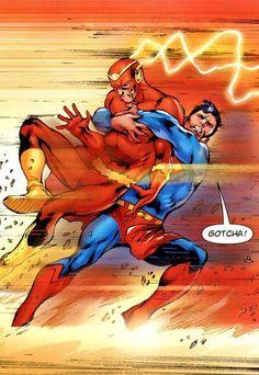 The Flash & Superman