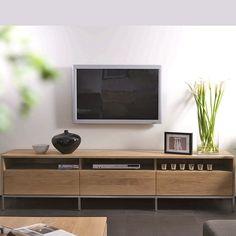 Shop the Ethnicraft NV Oak Ligna TV Cabinet at Lekker Home drawer x x 1600 Tv Furniture, Solid Wood Furniture, Living Room Furniture, Furniture Design, Furniture Ideas, Tv Cupboard, Cupboard Design, Ikea Cupboards, Tv Cabinets