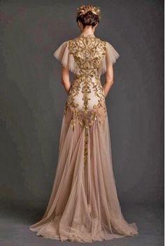 Krikor Jabotian... omg I would love a dress like this!