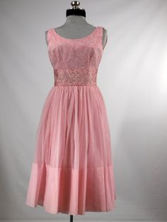 Vintage 1960s prom dress party dress special by VintageRoseTattoo