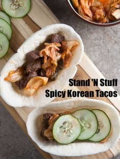 Tacos on Pinterest | Chicken Tacos, Taco Shells and Korean Bbq