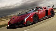 Lamborghini Veneno Roadster - Only 9 will be made