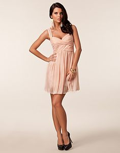 Sunny Dress - Oneness - Nude - Party dresses - Clothing - NELLY.COM UK
